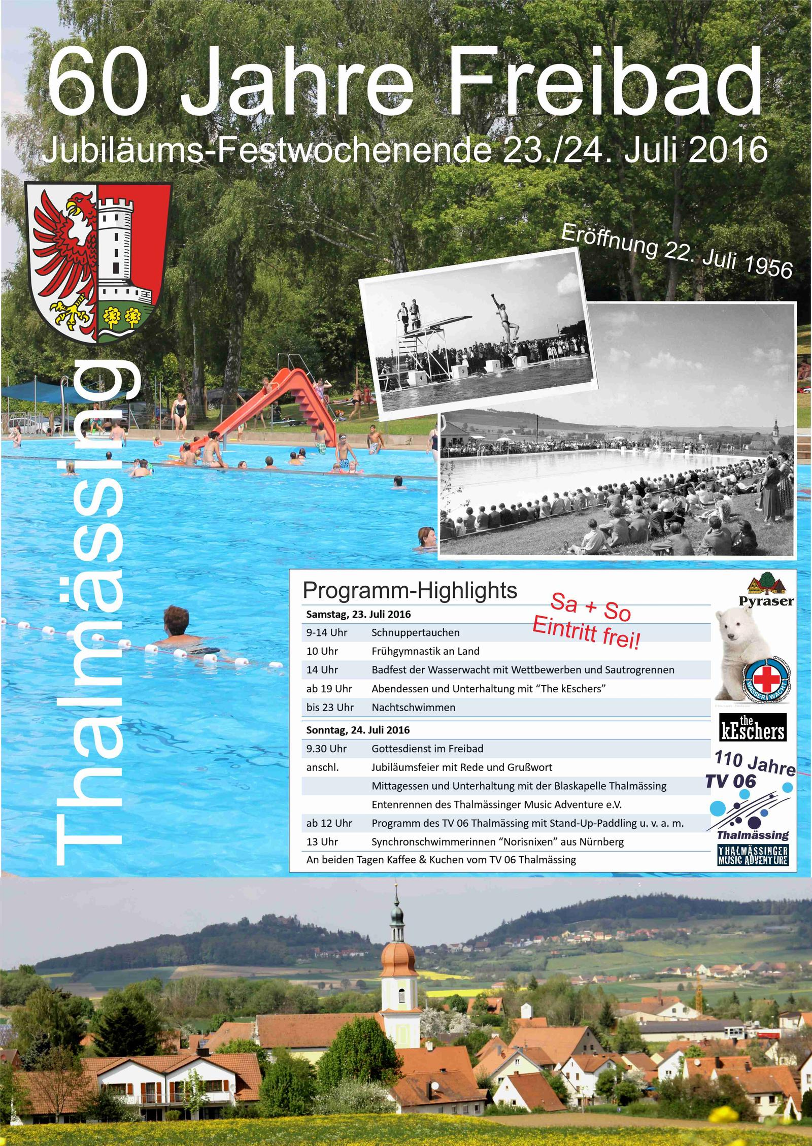 Freibadjubilaeum2016_Plakat20160611_mitEntenrennen